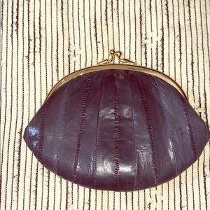 Vintage Navy clutch
